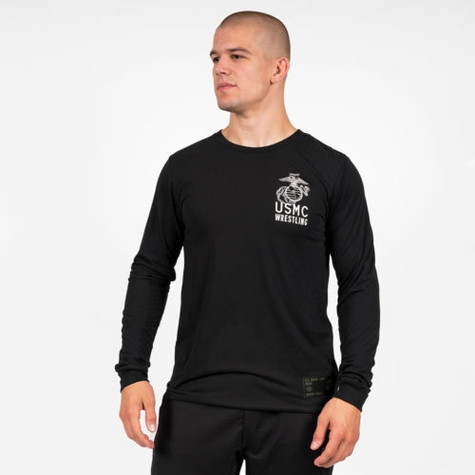 USMC First to Fight Long Sleeve T-Shirt