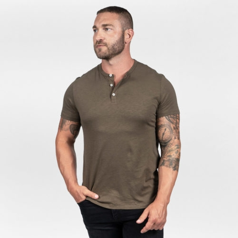 Eco Etched Henley | RUDIS Supply