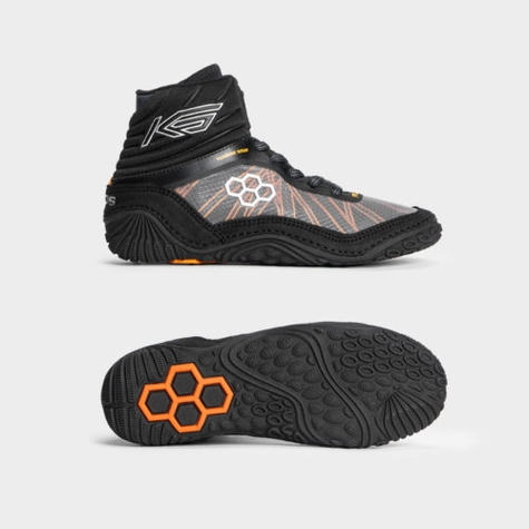 KS Turbine Midnight/Bengal Youth Wrestling Shoes
